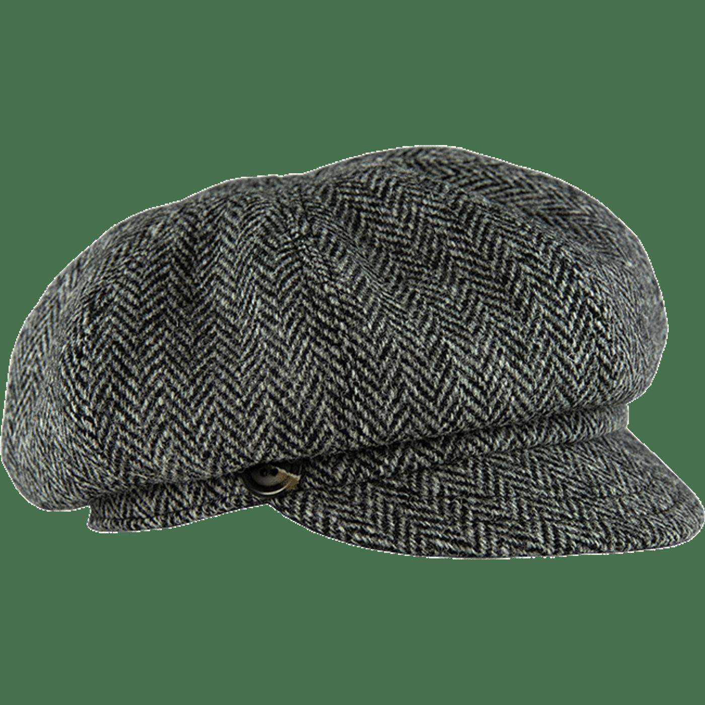 91cec505b The Gatsby Cap in HARRIS TWEED