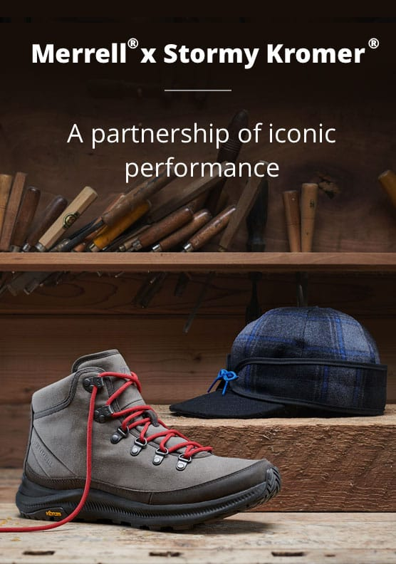 Merrell and Stormy a partnership of iconic performance.