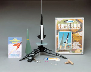 Military Super Shot Flying Model Rocket Starter Set - Estes 1432