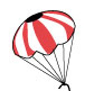 """Parachute 18"""" - Custom 24090"""