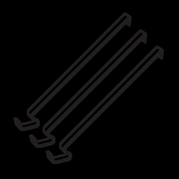 Engine Clips (3 pk.) - Custom 23120