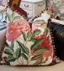 Enchanted Throw Pillow,  Fuchsia
