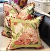 Enchanted Throw Pillow with trim. Fuchsia