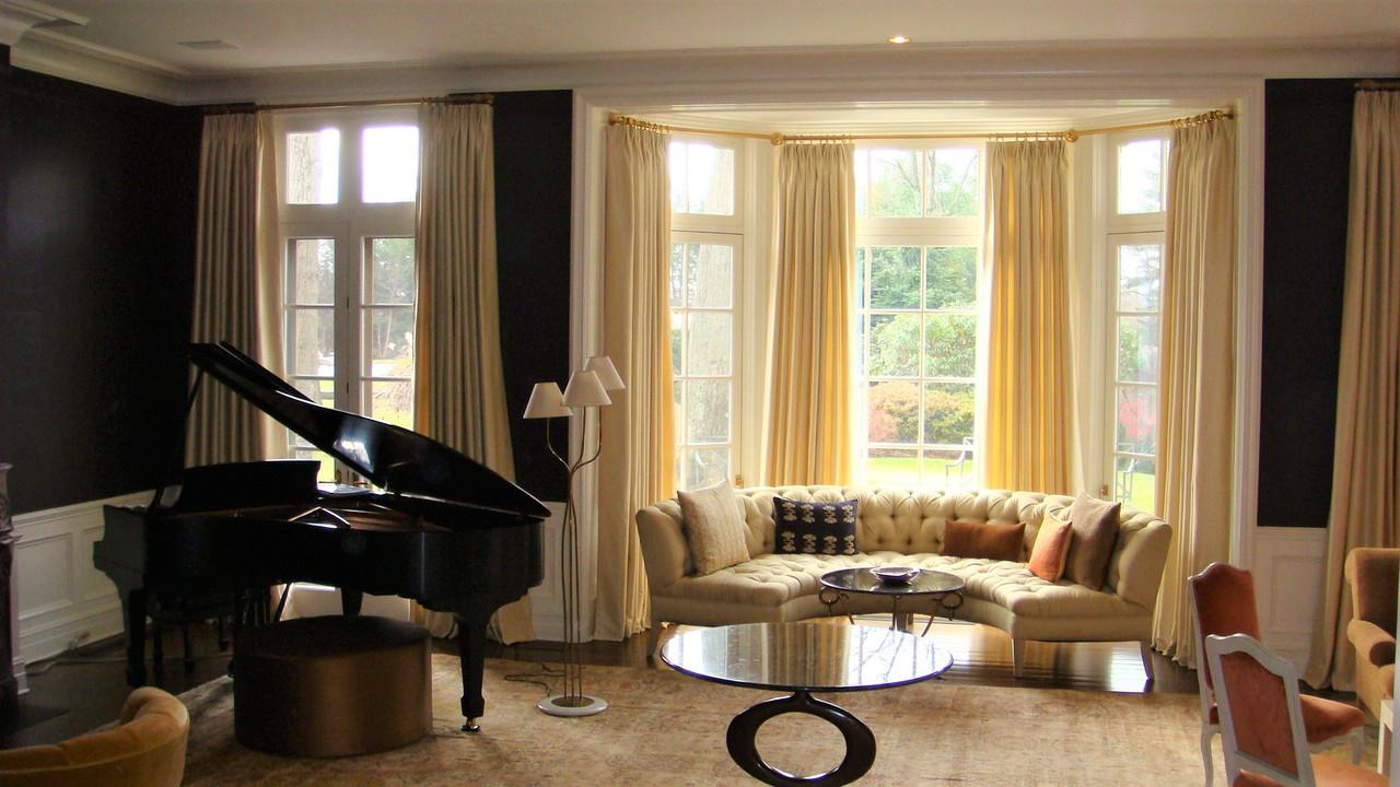 Custom window treatments in Stamford, CT | Thundersley Interiors
