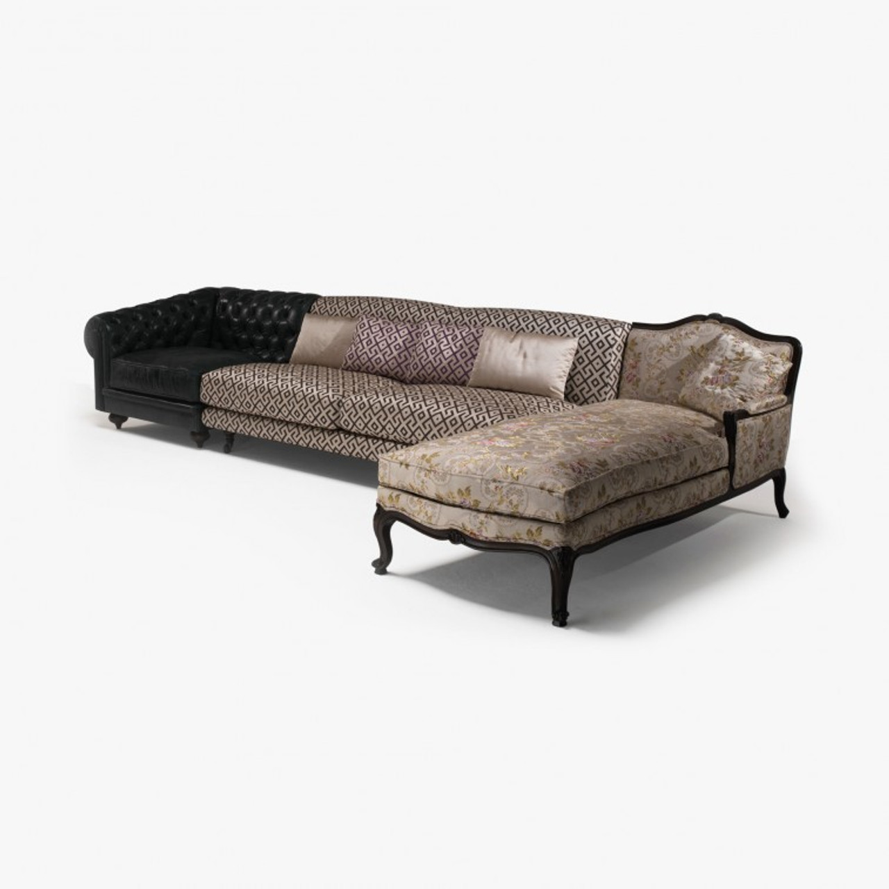 Chesterfield Sectional Sofa