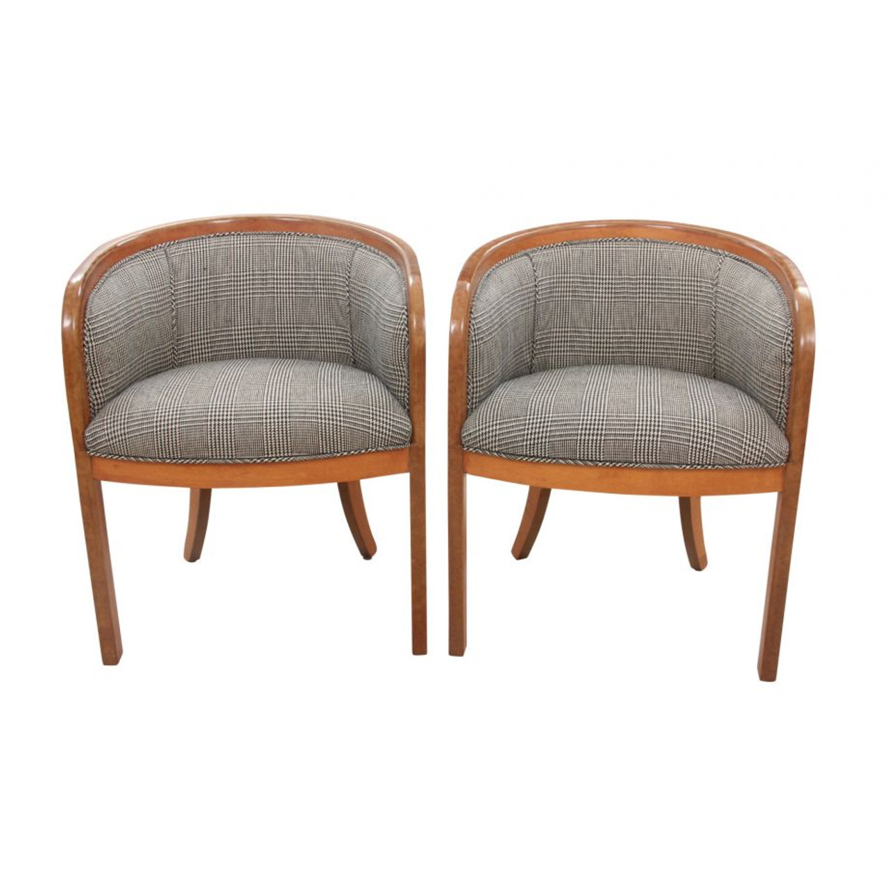 Image of: Mid Century Bentwood Armchairs Pair