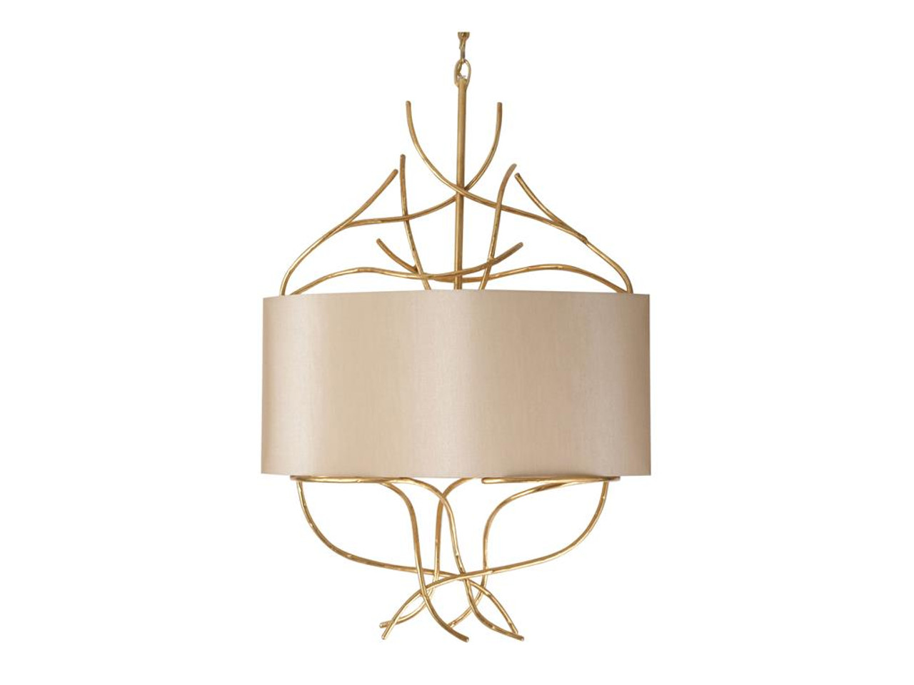 Catalina Twig Chandelier Gold Contemporary Style