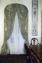 Traditional Swags & Tails Window Treatment