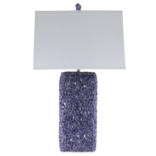 ELECTRA CRYSTAL Table Lamp, Sapphire