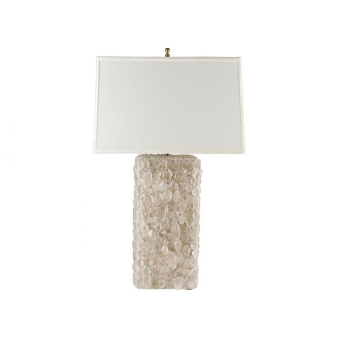 ELECTRA CRYSTAL Table Lamp, White