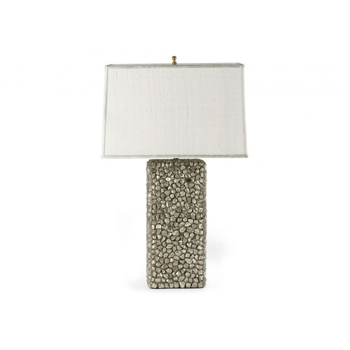 ELECTRA CRYSTAL Table Lamp, Silver