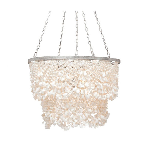 MINI SHELL CHANDELIER