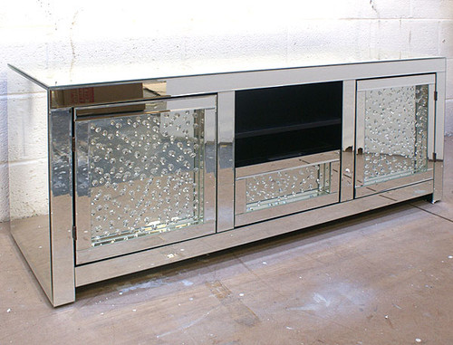 Crystal Mirrored TV Stand