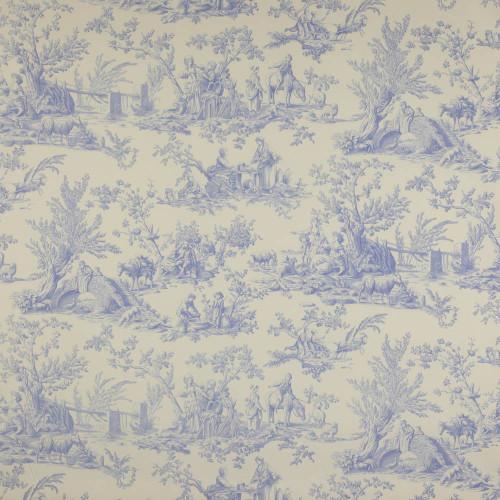 Bellegarde Fabric Bleu