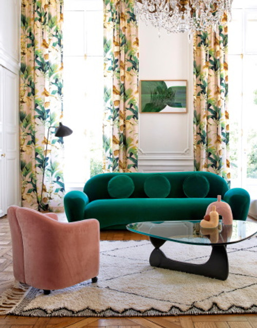 MANUEL CANOVAS Salengro Vert Fabric