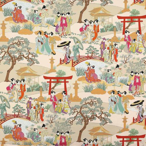Gashias fuchsia Fabric
