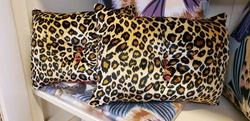 Cheetah Lumbar Pillow