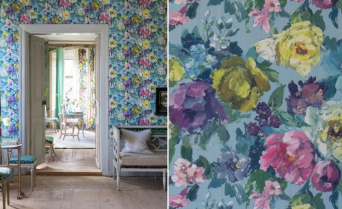 DESIGNERS GUILD THE EDIT - FLOWERS WALLPAPER VOLUME I