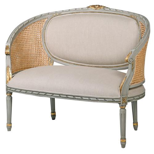 French Cane Sofa
