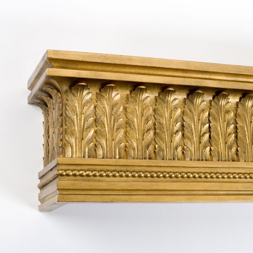 Acanthus Leaf And Bead Cornice