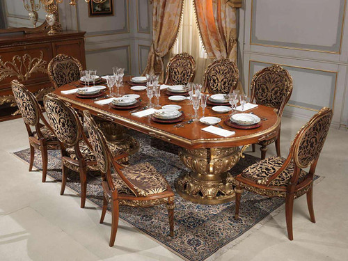 French Dining Room Furniture Set, Versailles