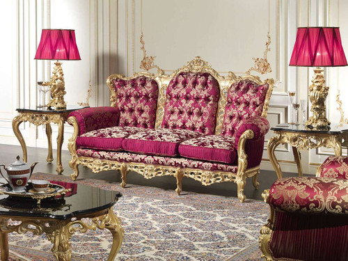 Barocco luxury classic Living Room Set