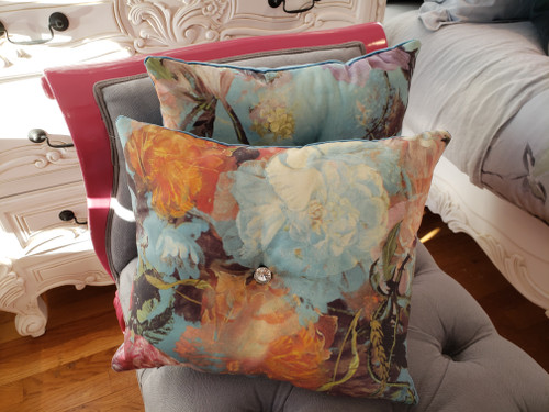 Jean Paul Gaultier Botanique Boudoir Pillow