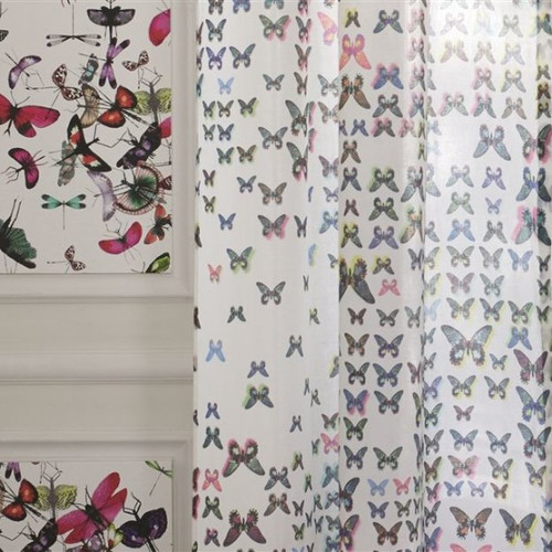 Butterfly Parade Shower Curtain