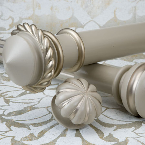 Wood Poles & Finials....Venetian Collection EH Design