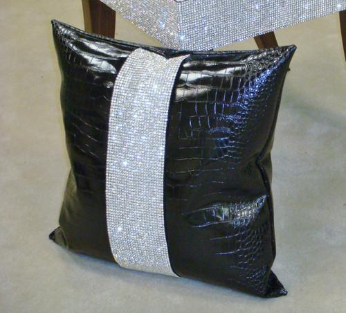 Luxury Throw Pillow, Belgravia Crock, Diamante Collection