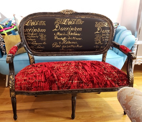 French Loveseat, The Camden Loveseat