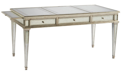 Mirrored Desk / Writing Desk Regency style