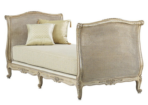 Louis XV Caned Daybed, Ancient Oak finish $4550.00