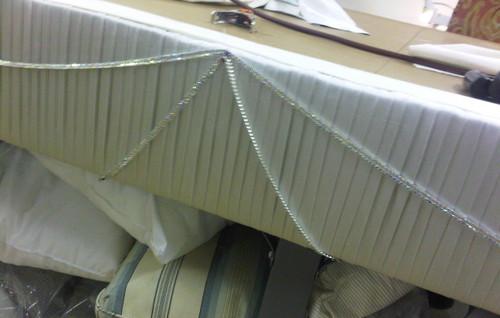 Art Decor Pleated Cornice