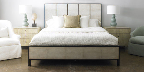 Panel Bed, Contemporary Style Bed