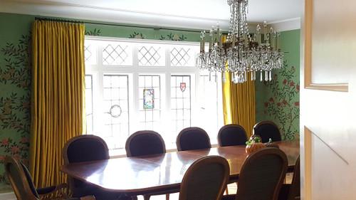 Luxury Silk Dutchess Curtain