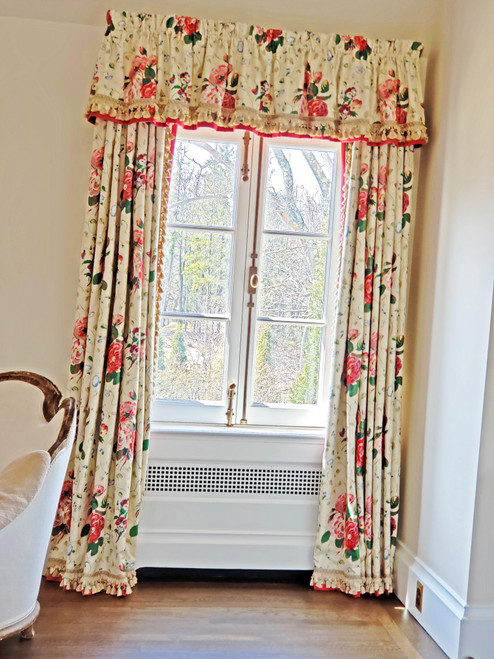 Luxury Bedroom window treatment, Colefax And Fowler