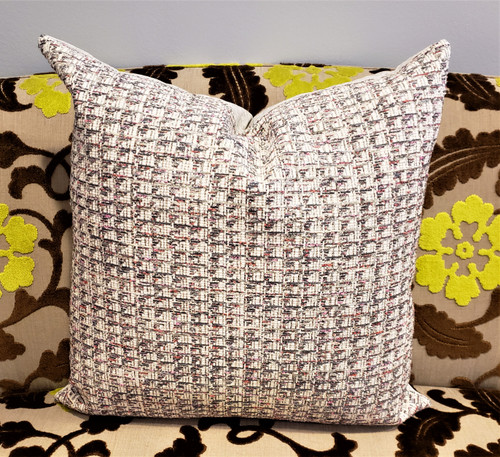 Channel Style Throw Pillow