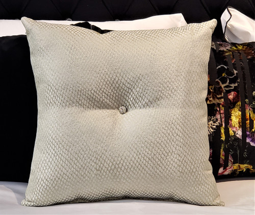 Park Lane Throw Pillow, fabric by Christopher Hyland