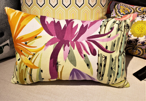 Missoni Floral Lumbar Pillow