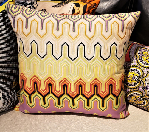 Missoni Mogle Throw Pillow