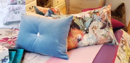 Jean Paul Gaultier Botanique  Lumbar Bling Throw Pillow