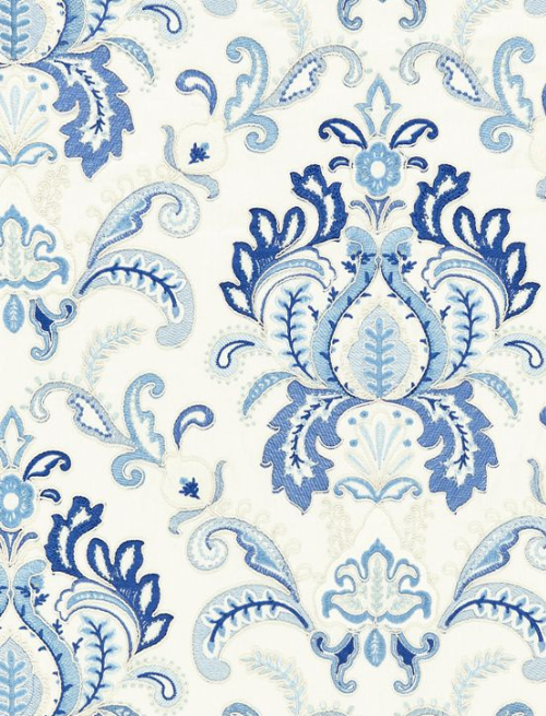Scalamandre Embroidery Fabrics - Designer Fabrics for Home Decor in Stamford, CT
