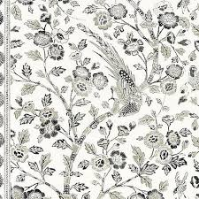 Scalamandre Anissa Print Truffle Fabric | DecoratorsBest