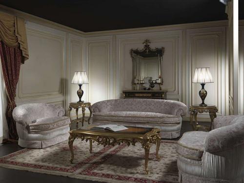 London Classic Living Room Sofa Set