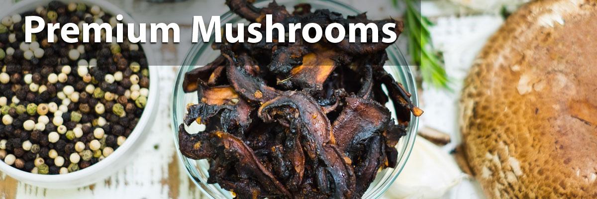 Vegan Mushroom Jerky