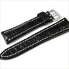 Black Genuine Matte Alligator Watch Band for Breitling | Breitlingstraps.com