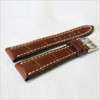 Mahogany Genuine Matte Alligator Watch Band for Breitling | Breitlingstraps.com