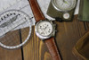 Mahogany Genuine Matte Alligator Watch Band for Breitling   OEMwatchbands.com