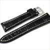 Black Genuine Matte Alligator Watch Band for Breitling | Breitlingstraps.com